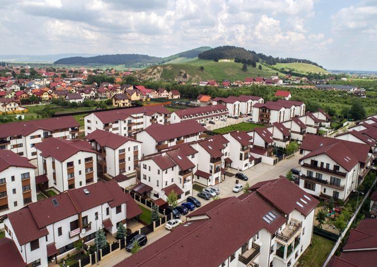 Investiție de 12 milioane de euro pentru Ansamblul rezidențial Sânpetru Residence din Brașov